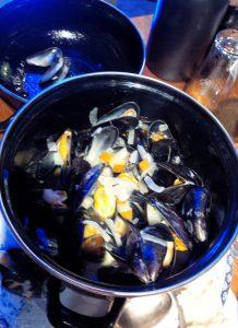 Muscheln im Faroz Meerfisch