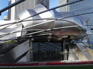 Pritzer Pavilllion in Chicago